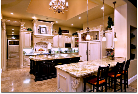 Beautiful upscale gourmet kitchen