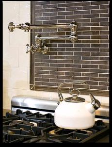 Stovetop Pot Filling Faucet