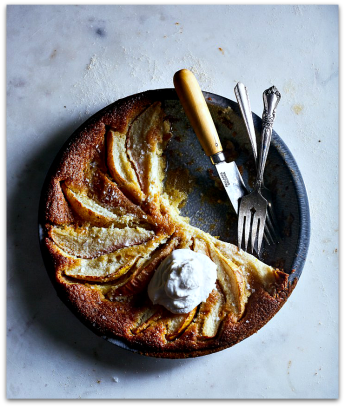 Pear Custard Honey Pie