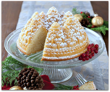 Pine Forest Bundt Cake