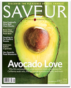 Saveur Magazine Cover