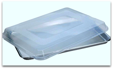 Nordic Ware Baker Half Sheet with Plastic Cover