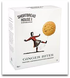 Scottish Shortbread Ginger Bites