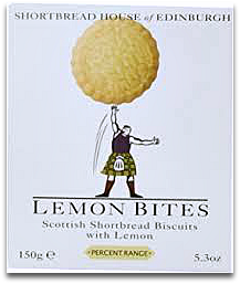 Scottish Shortbread Biscuits with Lemon