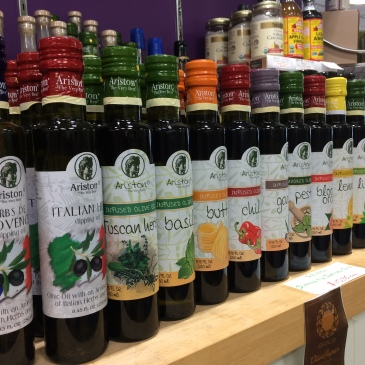 Ariston infused olive oils and vinegars