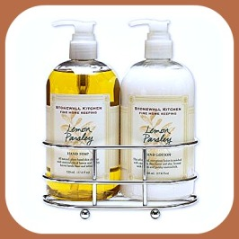 Stonewall Kitchen Lemon Parsley hand soap & lotion