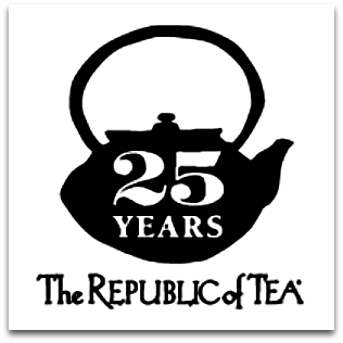 Republic of Tea logo - 25 Years