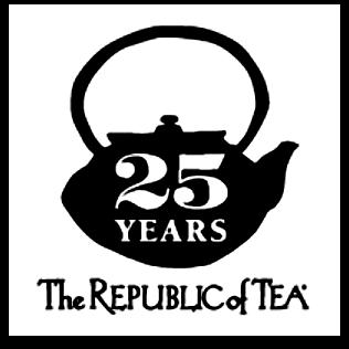Republic of Tea logo - 25 Years