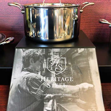 Heritage Steel Stockpot with photo/logo