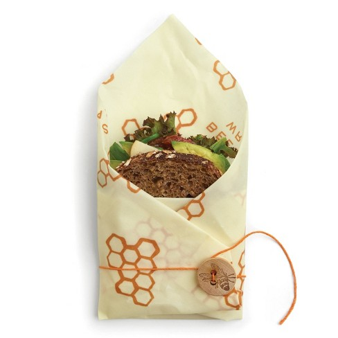 Example of sandwich size Bee's Wrap Reusable packaging